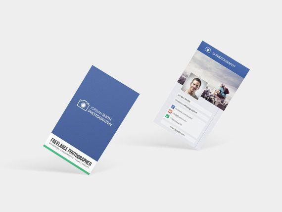 Fotograaf Business Card visitekaartje afdrukbare van MMXLV op Etsy