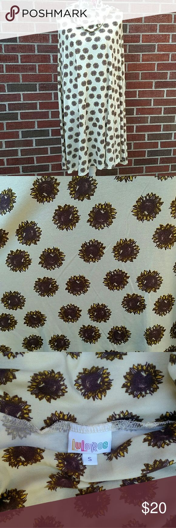 Lularoe Maxi Lularoe maxi in light yellow with sunflowers! New with out tags. LuLaRoe Skirts Maxi