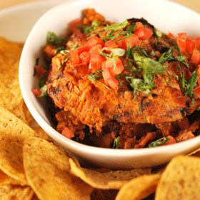 Barbecued Bean Dip, a recipe from ATCO Blue Flame Kitchen's Hall of Flame 2007 cookbook.