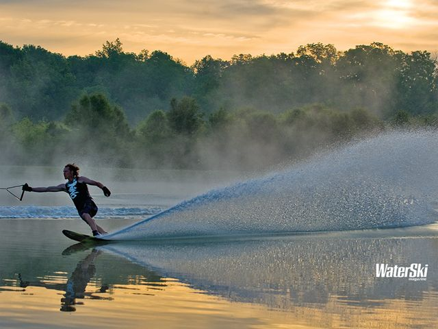 .we all knew how to water ski...just some way better than others!