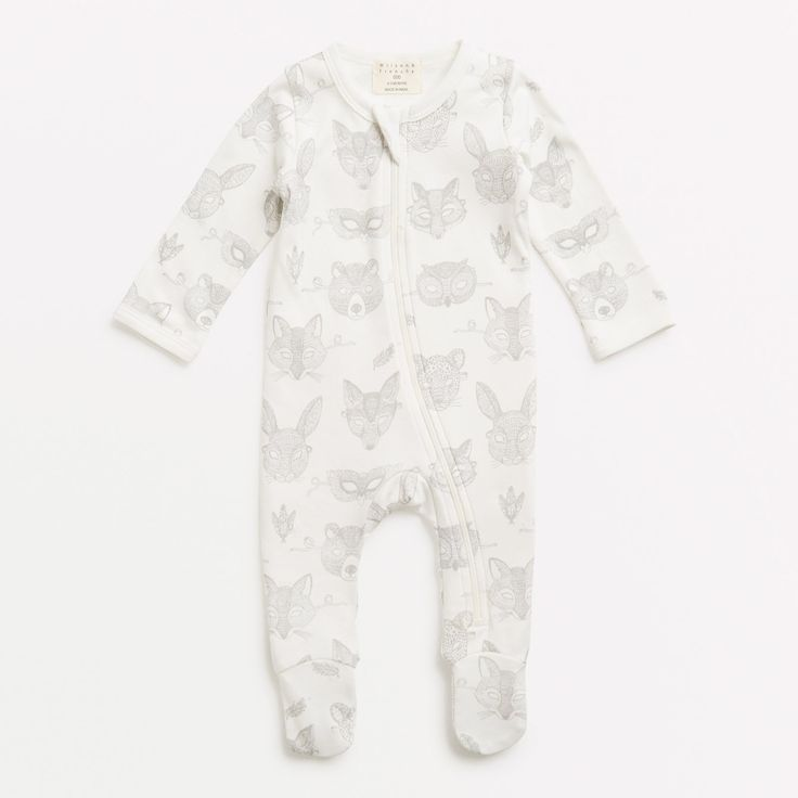 Wild Things zipsuit – Wilson and Frenchy