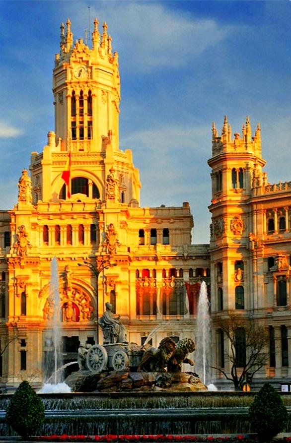 """""""Plaza Cibeles"""" Madrid, Castilla La Mancha 2907"""