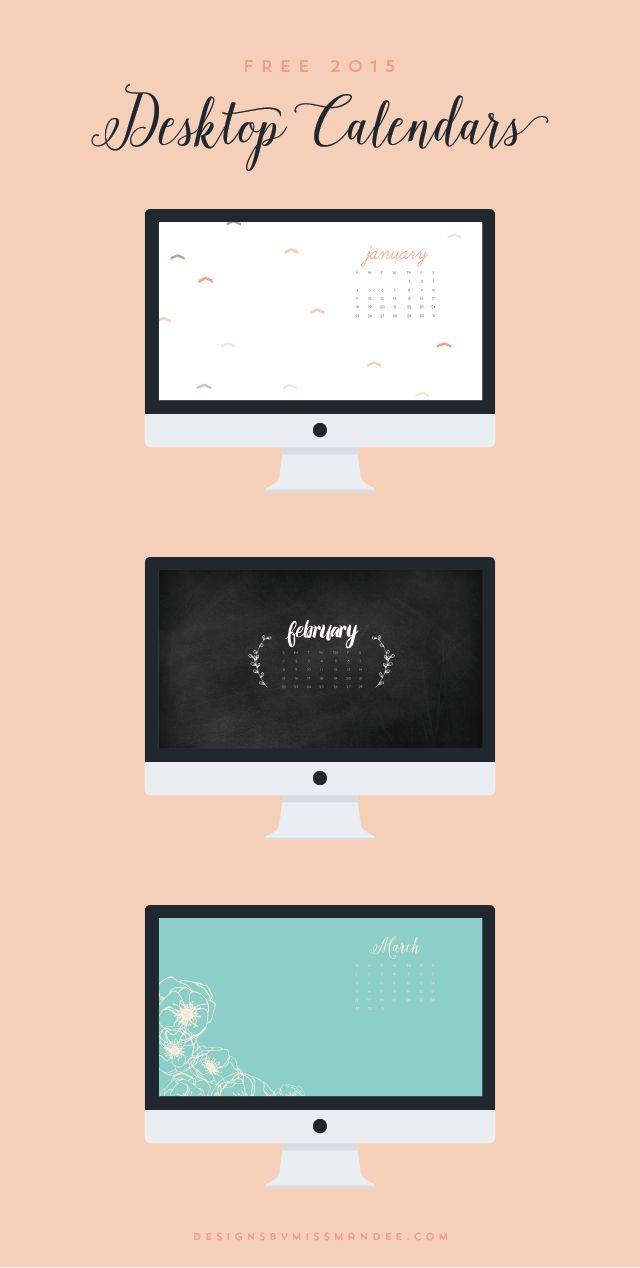 Calendar Design Wallpaper : Best images about desktop organization on pinterest