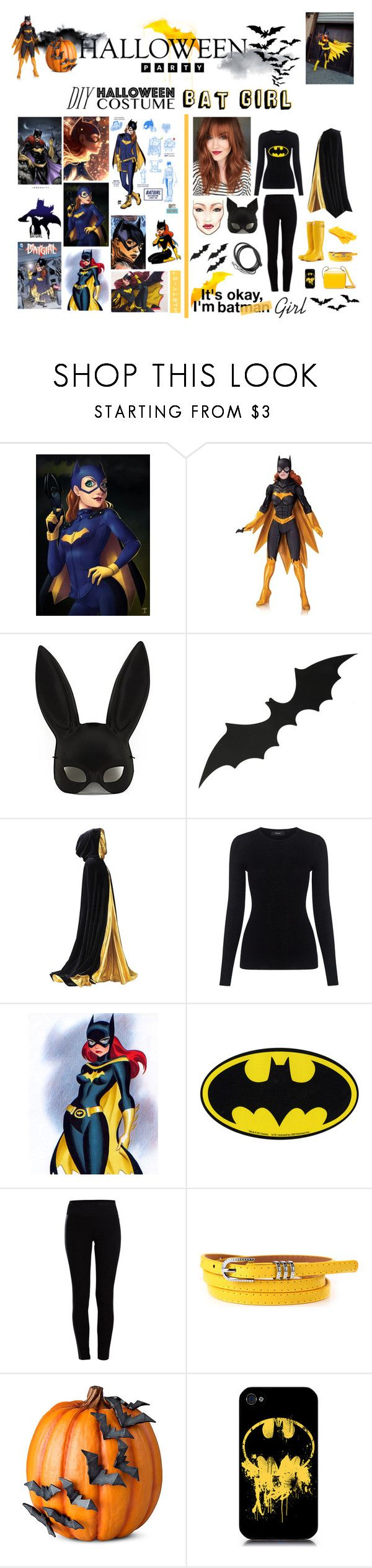 Halloween Party: Bat Girl! by marty-97 on Polyvore featuring moda, Theory, Pieces, Masquerade, Marni, Improvements, Burnside, Episode, Garcia and Rogues Gallery
