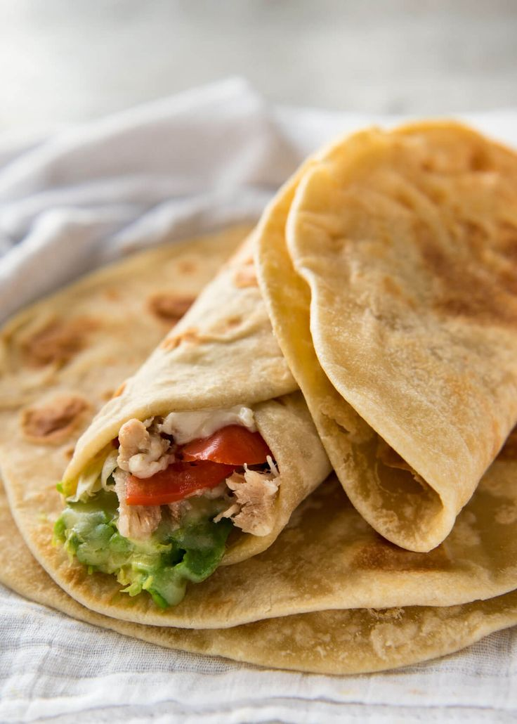 This flatbread recipe is made without yeast, yet is soft and pliable and wonderfully moist. www.recipetineats.com