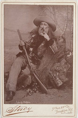 "John Y. Nelson:  (1826-1903) - noted frontier scout.  He joined Cody's ""Wild West Show"" in 1884 and was with the outfit for many years. He guided Brigham Young and the Mormon pioneers to the Salt Lake Valley in 1847; worked as a military scout with William F. Cody (Buffalo Bill); fought in the Indian Wars, and served as a lawman in North Dakota. He often narrowly escaped death from bullets, arrows, and knives. Nelson's story is a fascinating view of the early American west in all its glory."