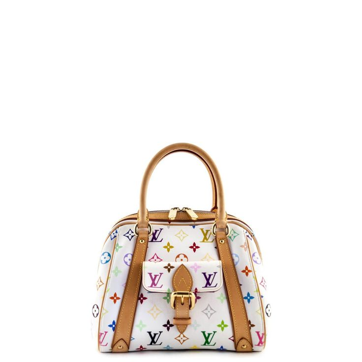 Louis Vuitton White Multicolor Monogram Priscilla - LOVEthatBAG - Preloved Authentic Designer Handbags - $1050 CAD