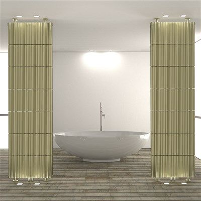Bamboo Vertical Radiator | House of Radiators