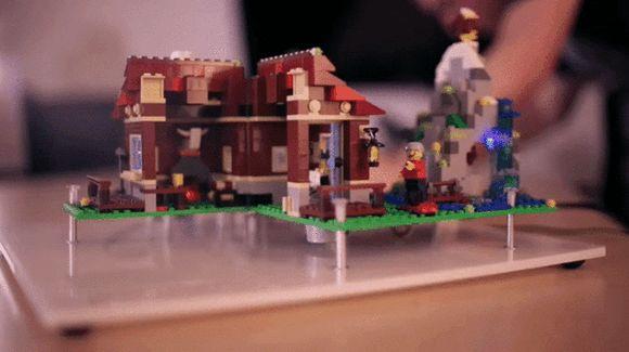 Raspberry pi smart house gif