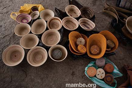 Piezas artesanales listas para comercializar. #Artesanias (Vichada - Colombia) Conoce más de nuestro trabajo en Mambe.org!