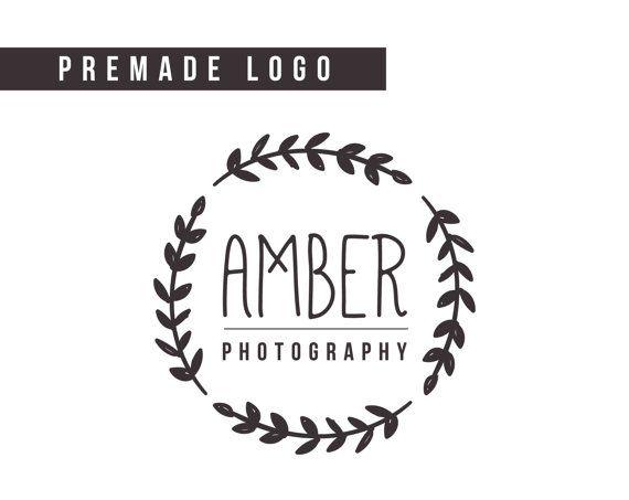 Premade Logo  photography logo small business logo by HayahDesigns