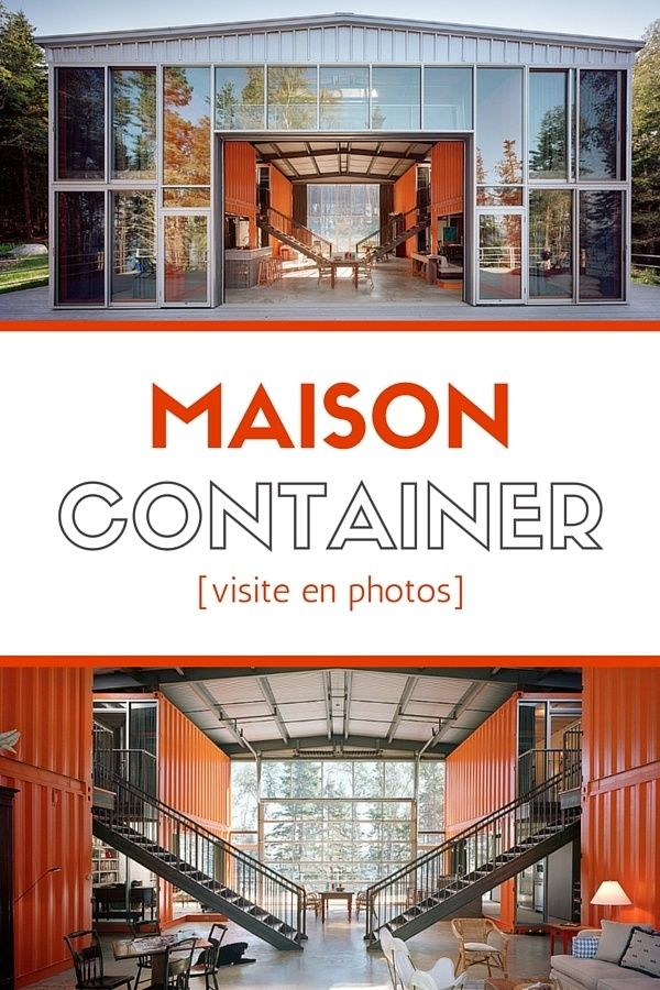 Les 25 meilleures id es concernant maisons containers sur for Maison container visite