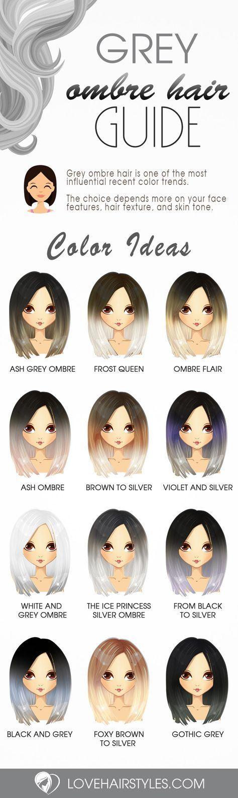 27 Versuchen Sie Gray Ombre Hair in dieser Saison …