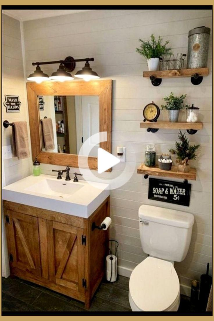 Country Outhouse Bathroom Decorating Ideas In 2020 Small Bathroom Decor Cheap Bathrooms Bathroom Design
