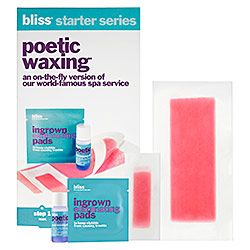 Bliss - Poetic Waxing® Starter Series. This is a great mess-free easy waxing kit! I've used it! :)