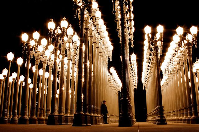 Urban Lights @ Los Angeles County Museum of Art, Los Angeles