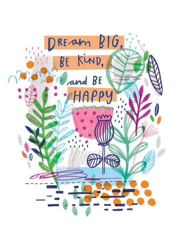 Dream Big Poster by Kyan Cheng