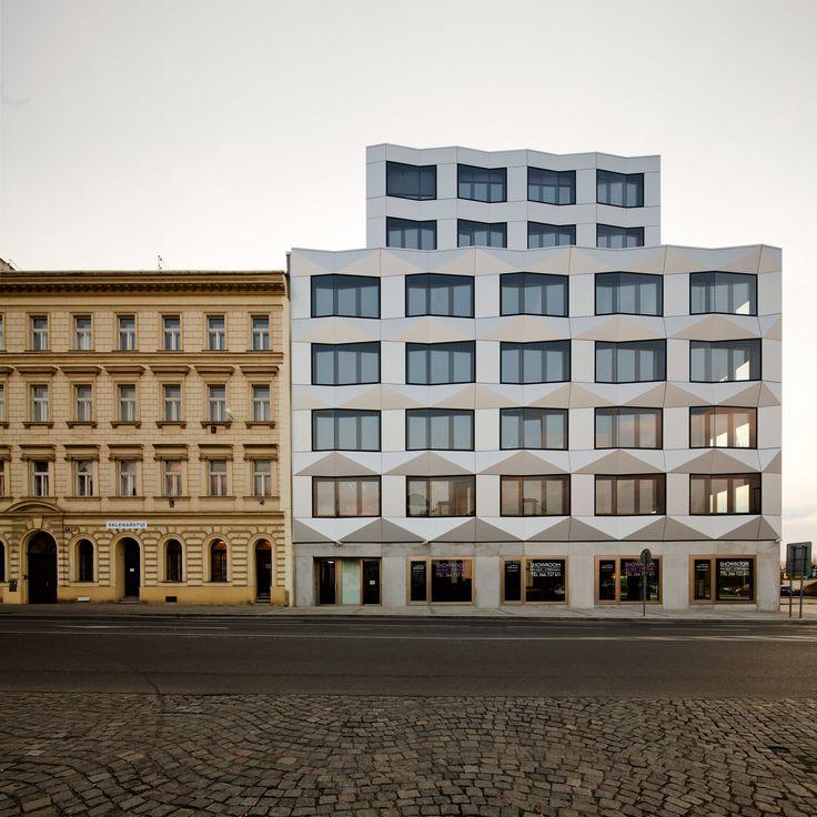 Keystone Office Building in Prague / by EM2N Architects - Prague, Czech Republic
