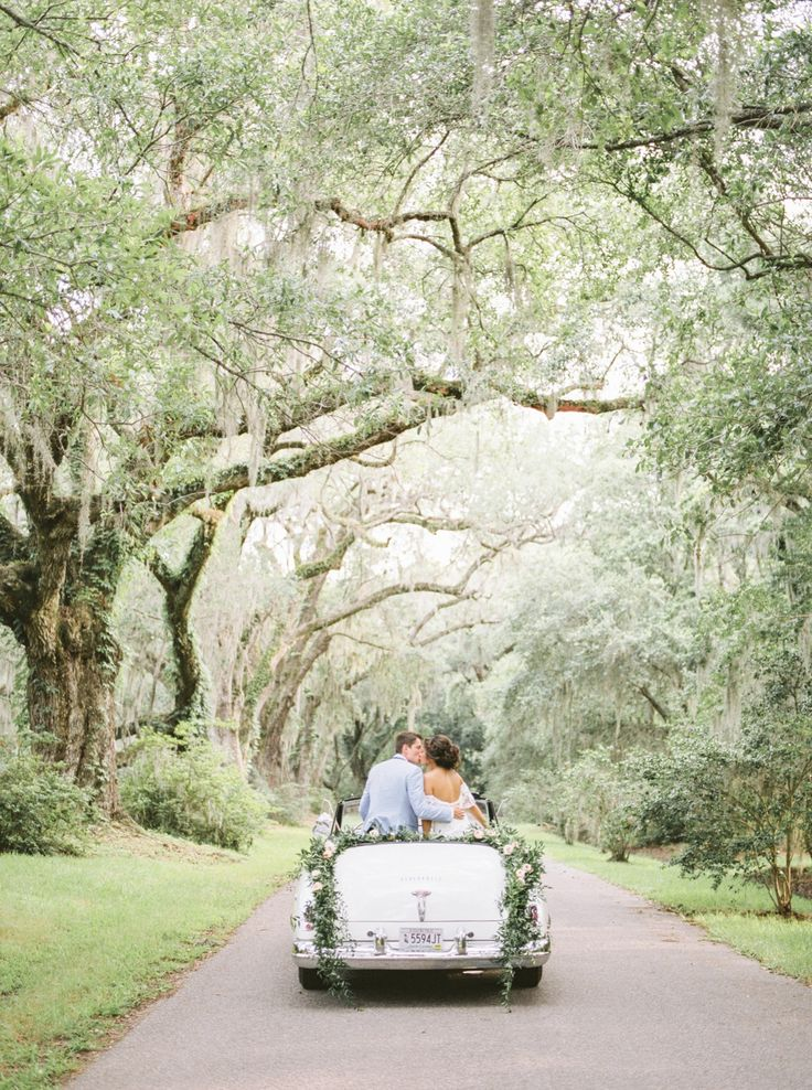 Fine Art Film Wedding Photography at Magnolia Plantation and Gardens in Charleston, South Carolina