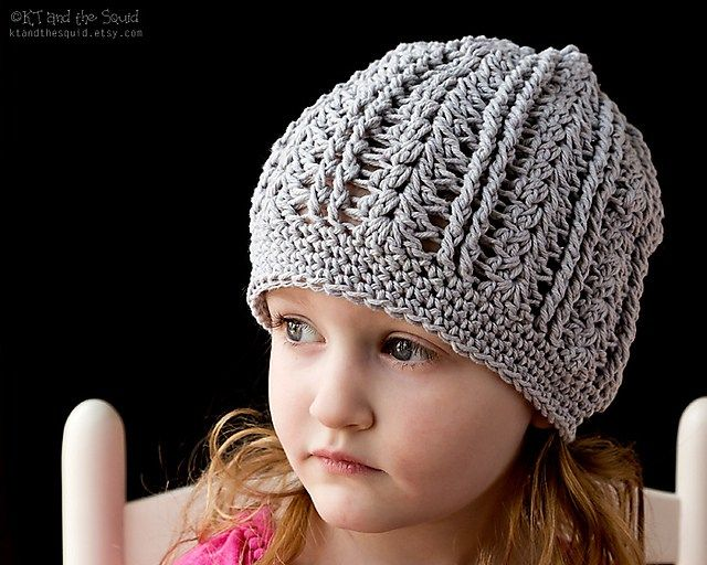 Beautiful Things Slouchy Free Crochet Pattern | KT and the Squid