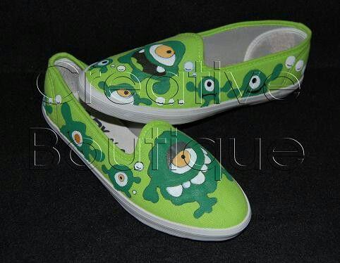 Painting shoes Amoeba Only 125k-135k