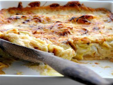 cauliflower-leeks-cheese - Elaine Lemm