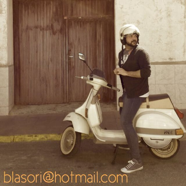 Me on my #vespa t5