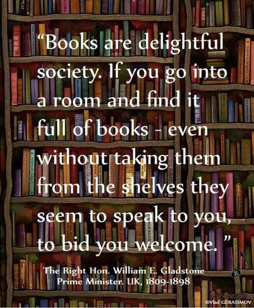 Books Welcome You. | Content in a Cottage