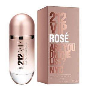 Perfume 212 Vip Rose 80ml Edp Feminino Carolina Herrera