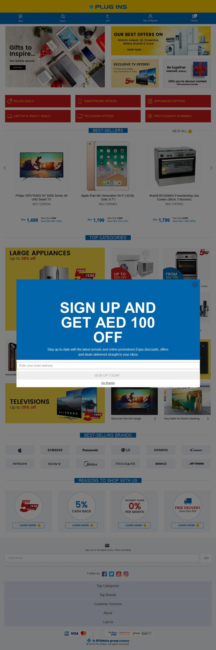 Plug-ins Electronics Shop Deira City Centre, 1b, 30 Street