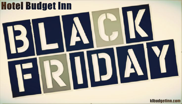 Hotel Budget Inn Jalan Alor (百值旅店 ) : Happy Black Friday...   Room Reservation : http://www.klbudgetinn.com