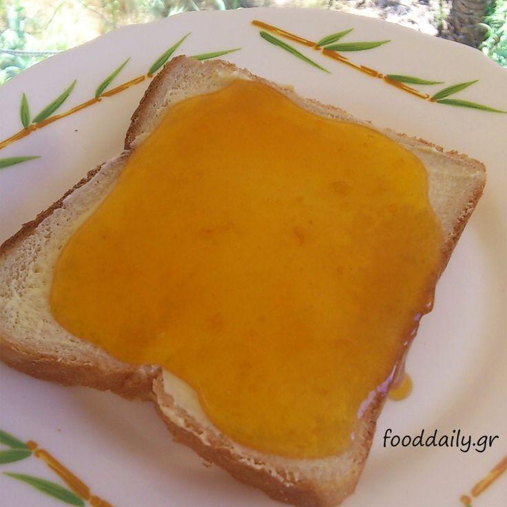 Μαρμελάδα βερύκοκο με κανέλα και γαρίφαλο - Apricot jam with cinnamon and clove