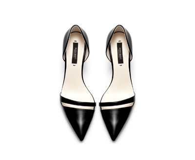 Image 2 of HIGH HEEL POINTY SHOES from Zara