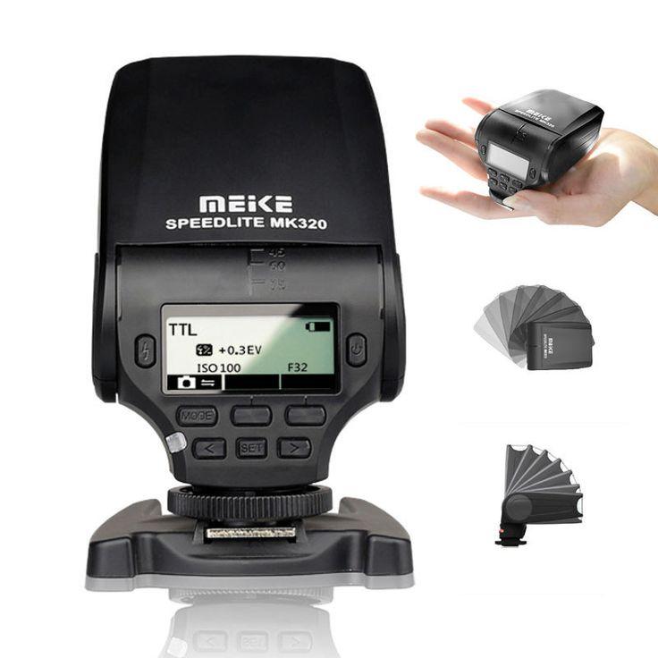 Meike MK-320 TTL Master HSS flash Speedlite for Sony A7 A7S A7R A7MKII A6000
