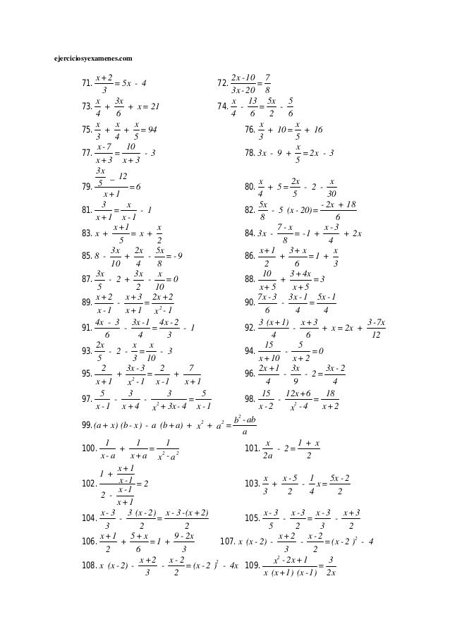 Ecuaciones De Primer Grado Studying Math Mathematics Education Teaching Handwriting