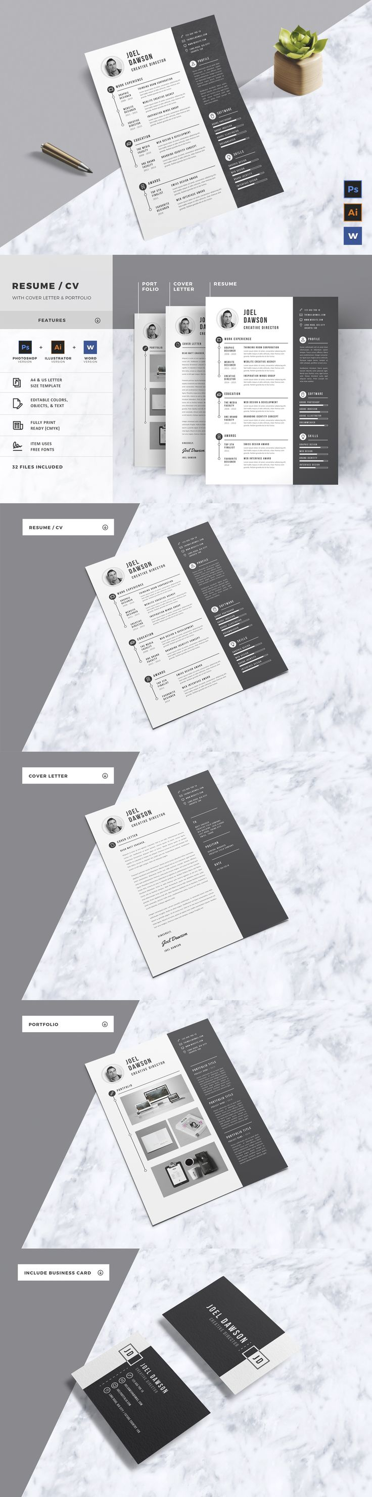 Resume by LeafLove on Envato Elements 49