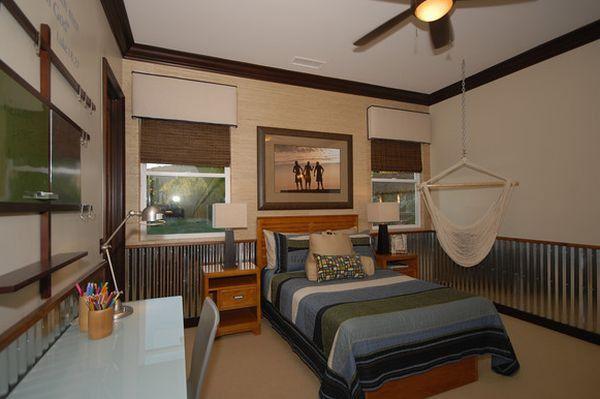 Modern hammock ideas bed desk bedroom