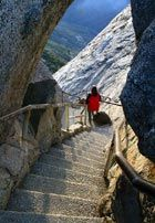Take the quarter mile long staircase up Moro Rock for a view worthy of the effort