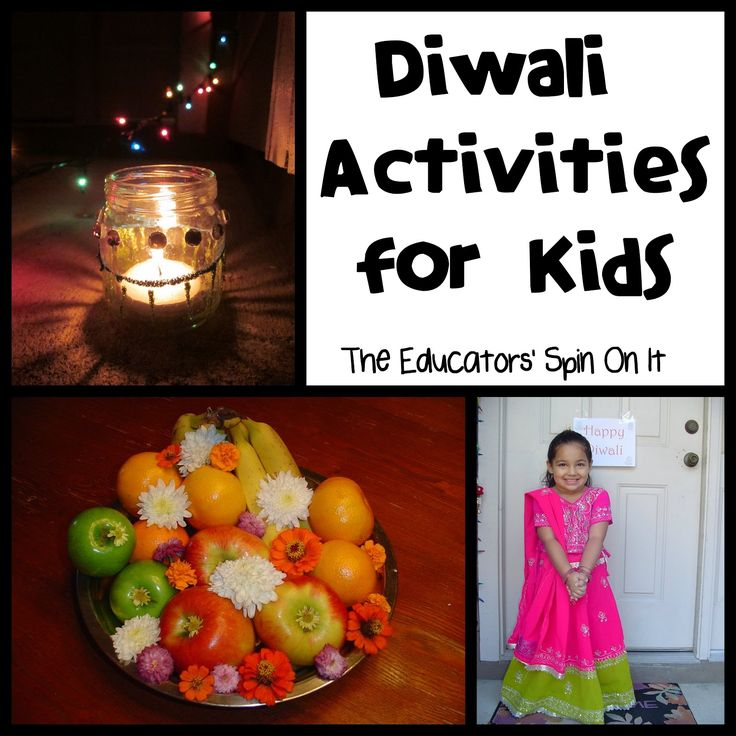 Diwali Activities for Kids from The Educators' Spin On It