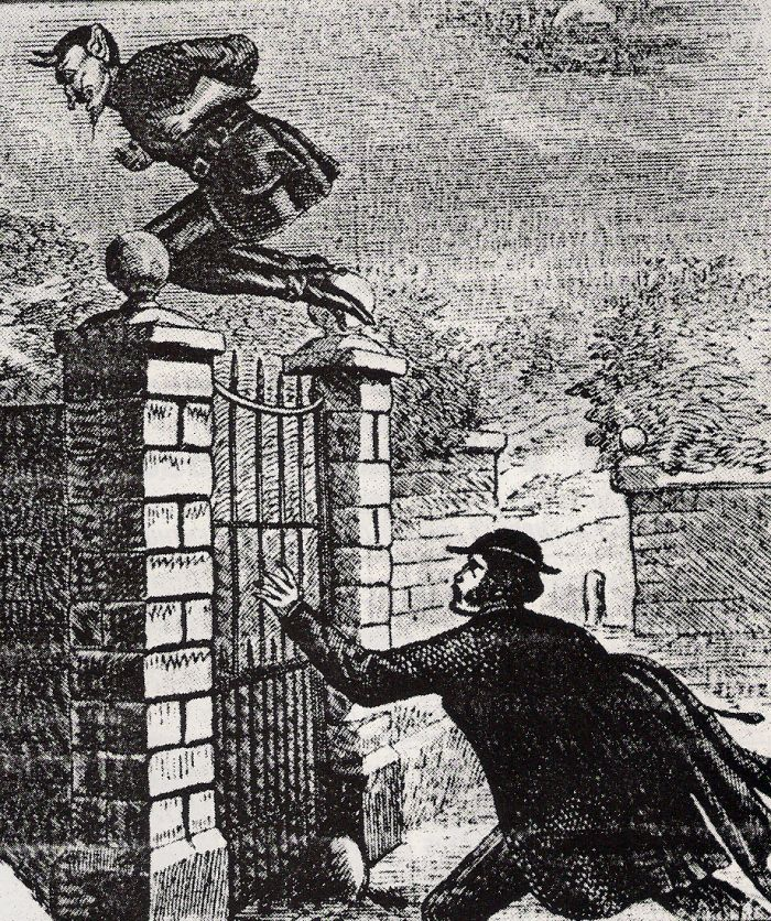 So much has been written about the notorious leaping terror, Spring-Heeled Jack, and his activities between 1838 and 1904, that it's hard to make sense of it all... but it's definitely an intriguing mess. Alien, Demon, Guy in Costume, even possibly a Bored Aristocrat... are any of these guesses even partially correct?
