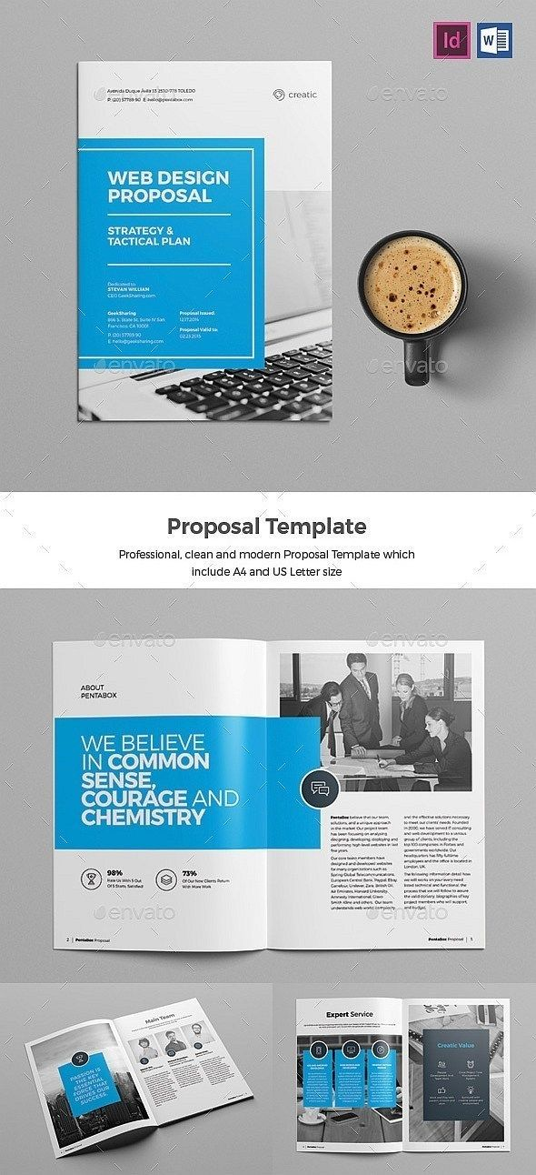 30 Indesign Business Proposal Templates Web Design Proposal Business Proposal Template Proposal Templates