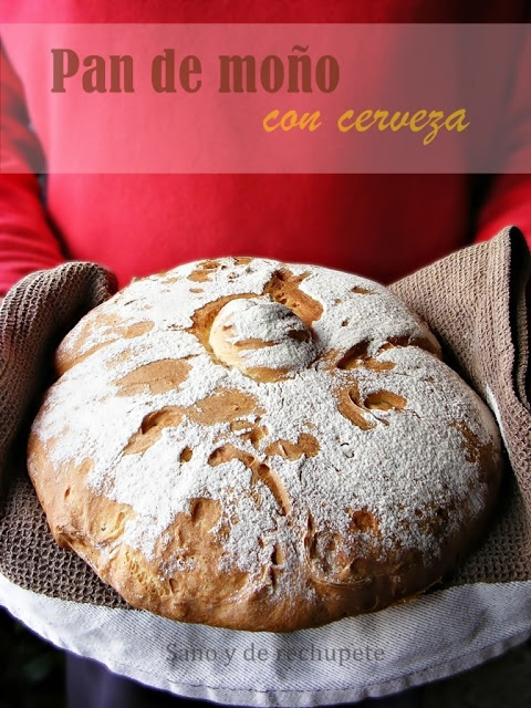 ¡Sano y de rechupete!: Pan de moño con cerveza