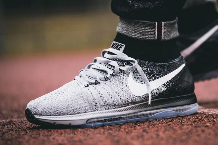 NIKE Air Zoom All Out Flyknit Running Oreo #sneakernews #Sneakers #StreetStyle #Kicks