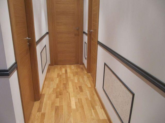 M s de 25 ideas incre bles sobre molduras de madera en - Moldura madera pared ...