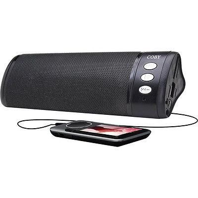 Coby Travel Speaker Rechargeable w/ SD Card + 3.5mm Inputs