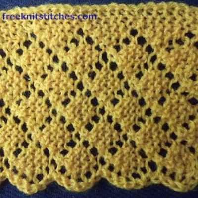 707 Best Handwork Knitting Edging Borders And Selvages Images