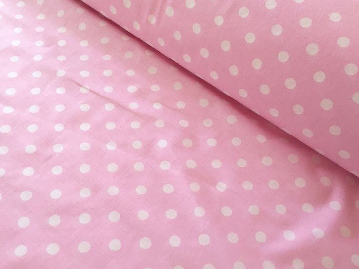 A personal favorite from my Etsy shop https://www.etsy.com/listing/506504982/half-metre-50cm-polka-dot-fabric-pink