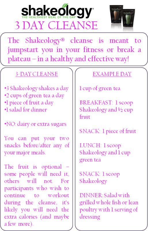 Have you tried the Shakeology 3-day cleanse?