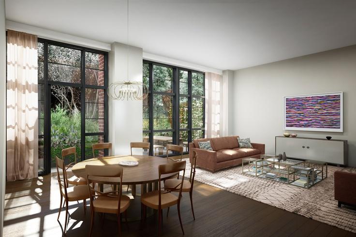 #150Charles #WestVillage #Condos #Condominiums #CharlesStreet #interiordesign