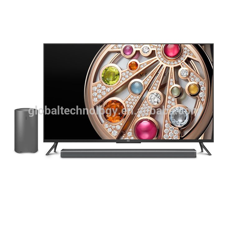 Xiaomi Mi 4K TV Smart Television 48 inches with Soundbar and Subwoofer